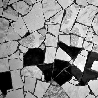 Suelo de azulejos gris
