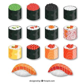 Sushi delicioso