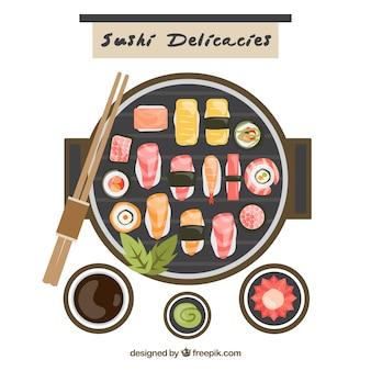 Sushi listo para comer