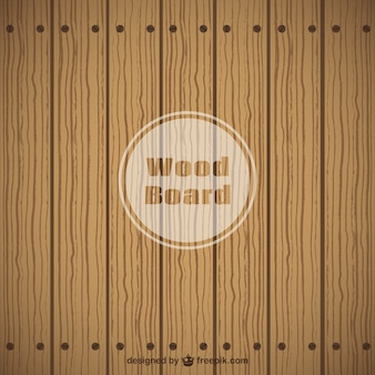 Tabla de madera plana