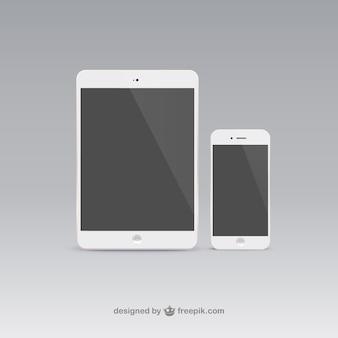 Tablet y teléfono móvil