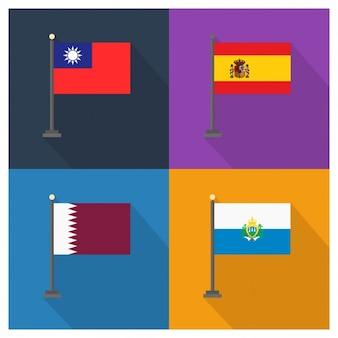 Taiwan España Catar San Marino