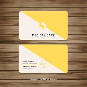 Tarjeta amarilla médica