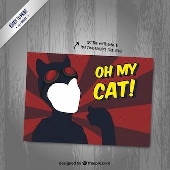 Tarjeta de Catwoman