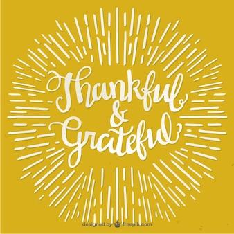 Tarjeta de felicitación del día de acción de gracias