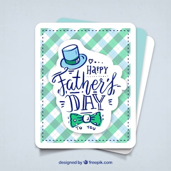 Tarjeta de feliz día del padre