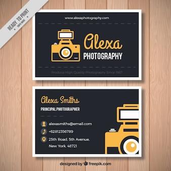 Tarjeta de fotografía