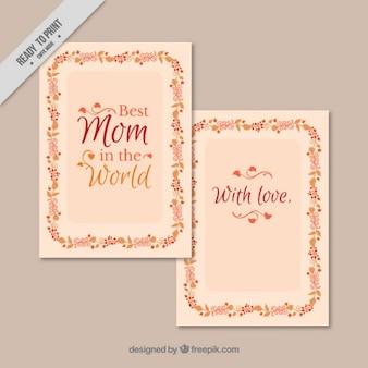 Tarjeta de la mejor mamá del mundo