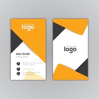 Tarjeta de presentación geométrica