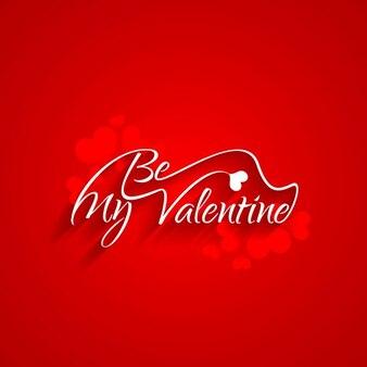 Tarjeta de sé mi Valentín