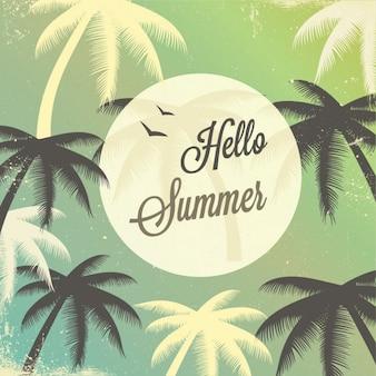 Tarjeta de verano