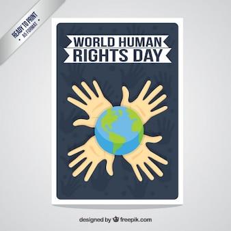 Tarjeta del día de los derechos humanos