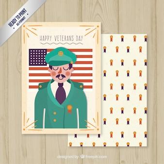 tarjeta del día de los veteranos