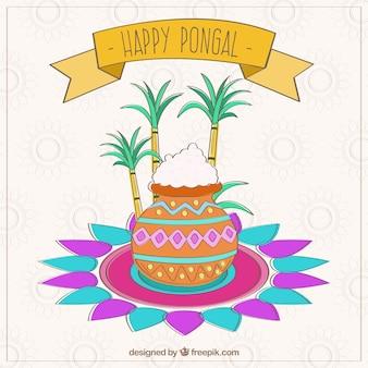 Tarjeta India de Pongal