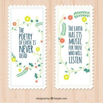 Tarjetas bonitas de citas de naturaleza