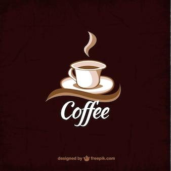 Taza de café de fondo