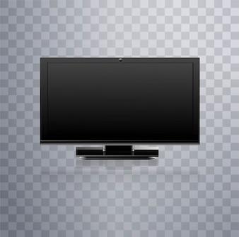 Televisión moderna lcd