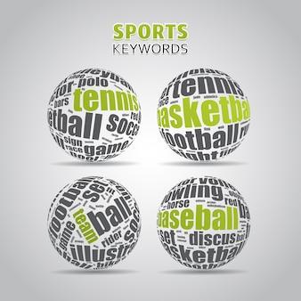 Términos clave de deportes
