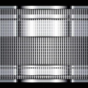 Textura brillante del metal