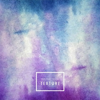 Textura de acuarela azul y púrpura