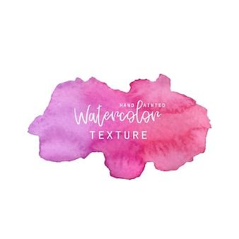 Textura de acuarela rosa y lila