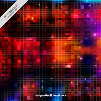 Textura de bola de discoteca brillante