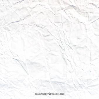 Textura de folio blanco arrugado