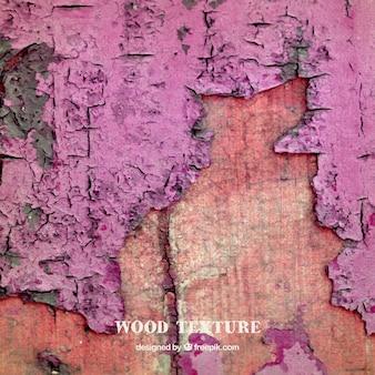 Textura de madera de color rosa