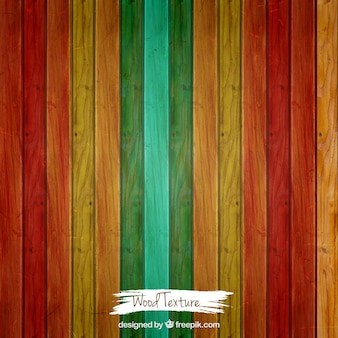 Textura de madera multicolor