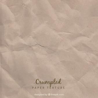 Textura de papel viejo arrugado