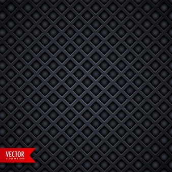 Textura metálica negra con rombos