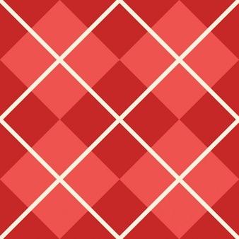 Textura roja de cuadros