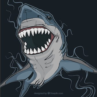 Tiburón peligroso