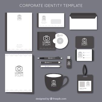 tienda de fotografía de identidad corporativa