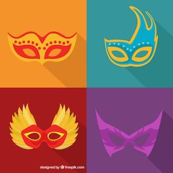 Tipos de máscaras para carnaval