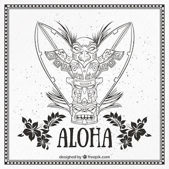Tótem aloha