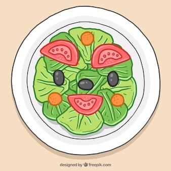 Una deliciosa ensalada