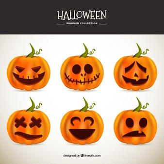 Varias calabazas geniales para celebrar halloween