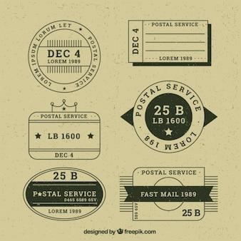 Variedad de estampas en estilo vintage