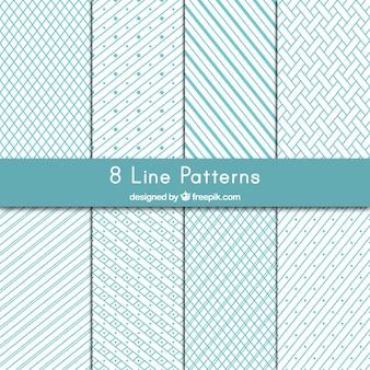 Variedad de líneas modelos
