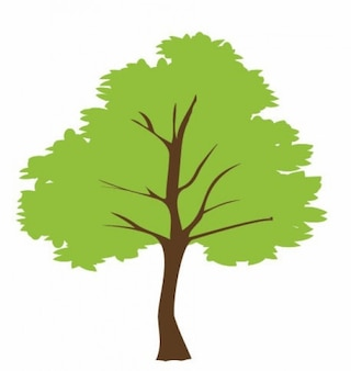 vector árbol