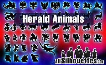 vector de anunciar los animales