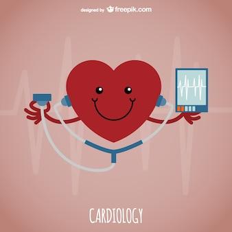 Vector de cardiología