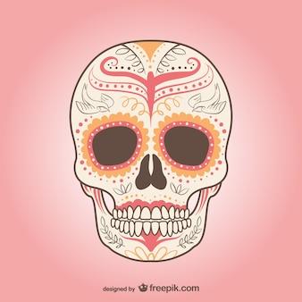 Vector de cráneo mejicano