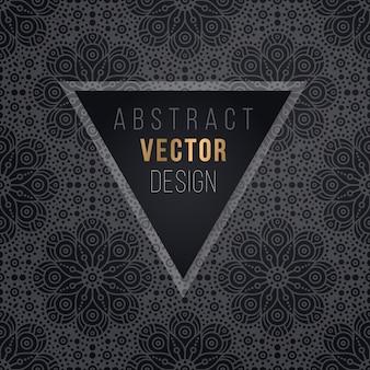 Vector de lujo patrón