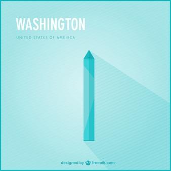 Vector fondo de Washington