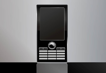 vector libre teléfono móvil
