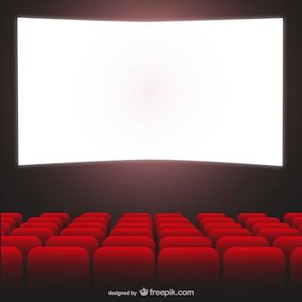 Vector sala de cine