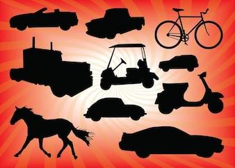 vectores de transporte
