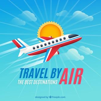 Viaja por aire